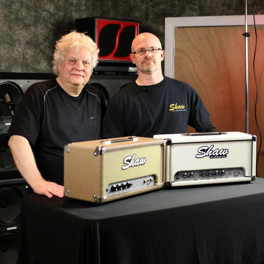 Kevin with Michael Wagener